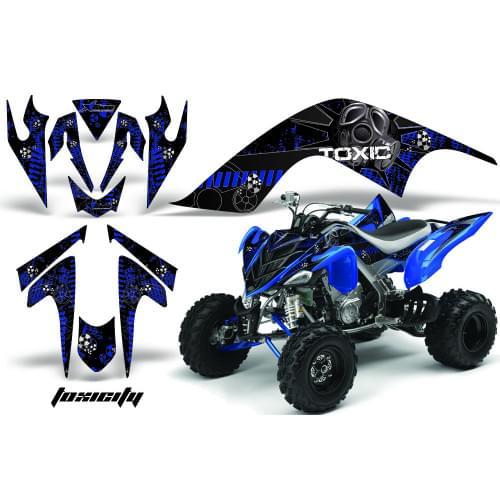 Графика для Yamaha Raptor 700 (Toxcity)