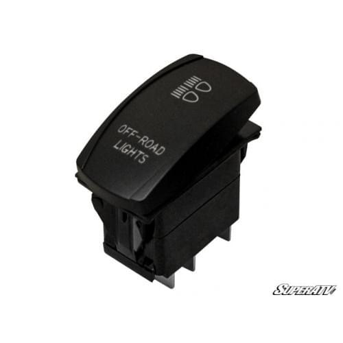 Кнопка включения выключения света SuperAtv для UTV LTS-001 LTS-002